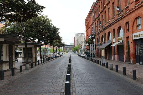 Toulouse confinée en 2020